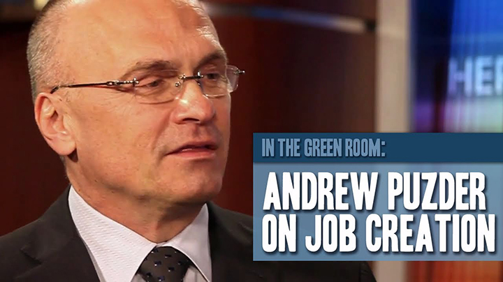Andrew Puzder on Job Creation